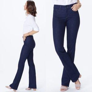 NYDJ Barbara bootcut high rise stretch jeans #S02